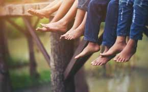 rêver de pied signification.